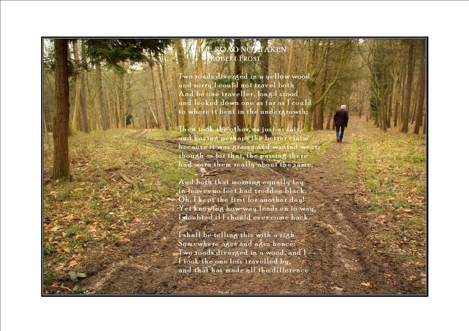 the road not taken 2 essay